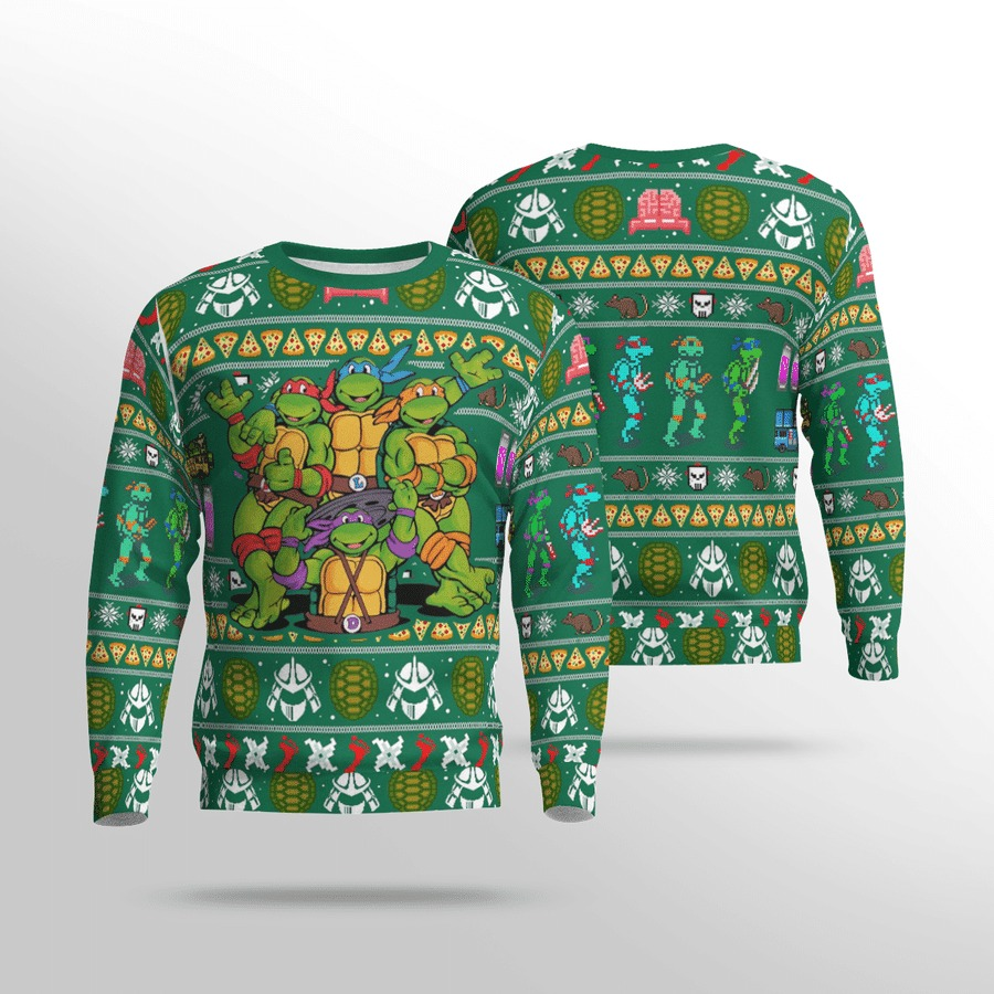 TMNT ugly sweater 1