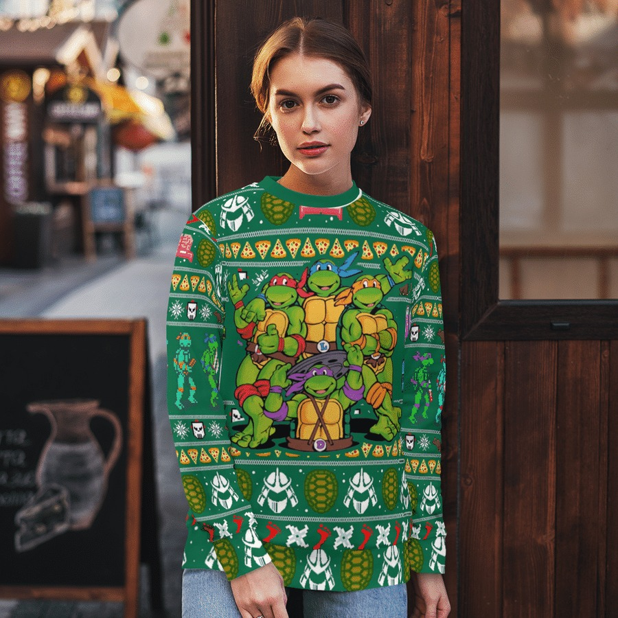 TMNT ugly sweater 2