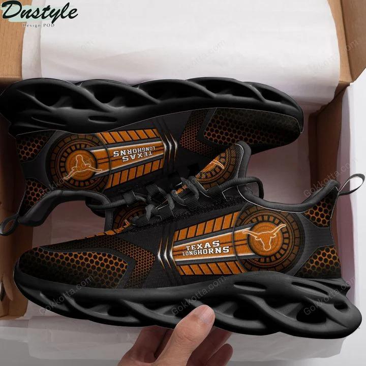 Texas longhorns NCAA max soul shoes