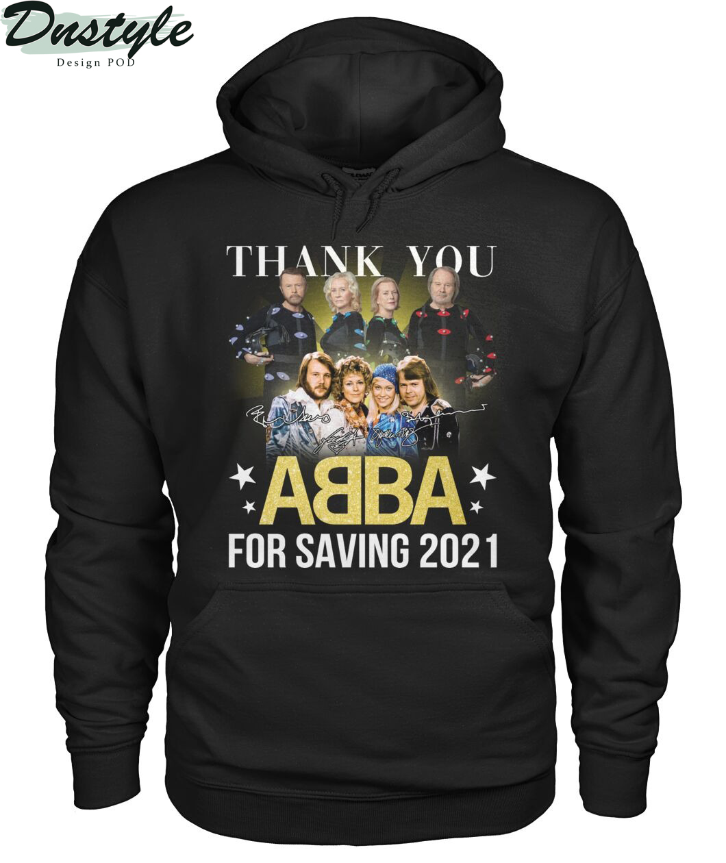 Thank you ABBA for saving 2021 hoodie