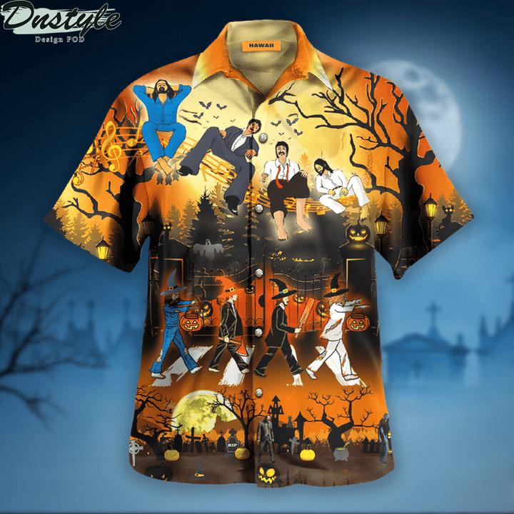 The beatles funny halloween hawaiian shirt