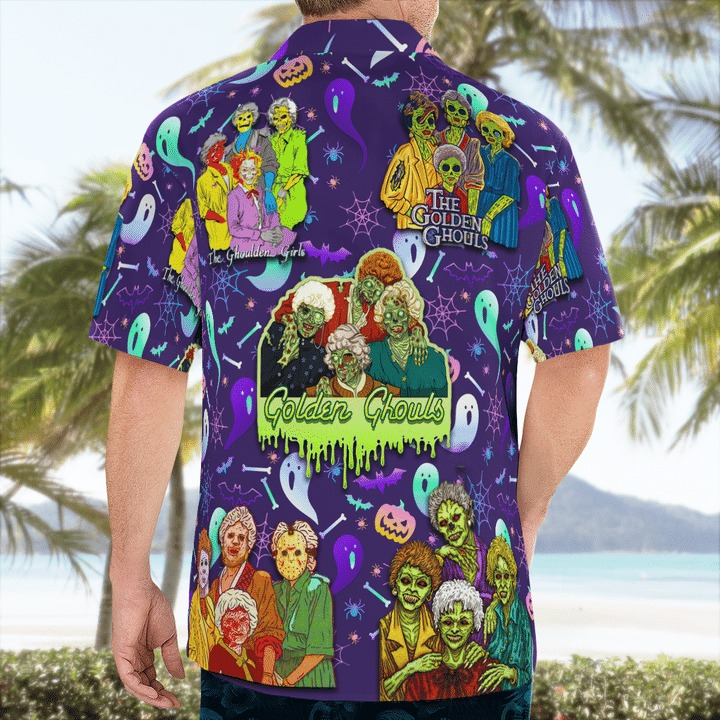 The golden ghouls hawaiian shirt 2