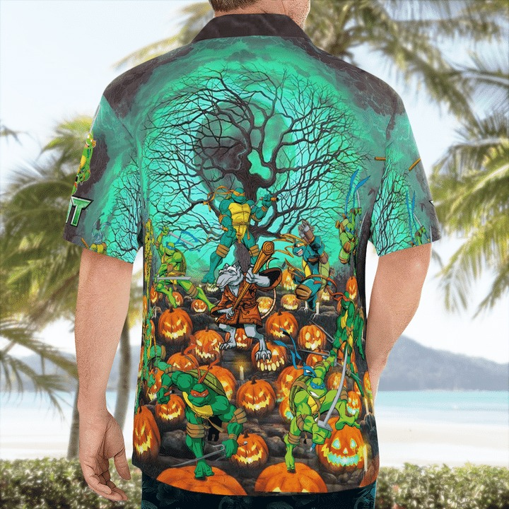 This is my human costume i'm actually a ninja hawaiian shirt 2