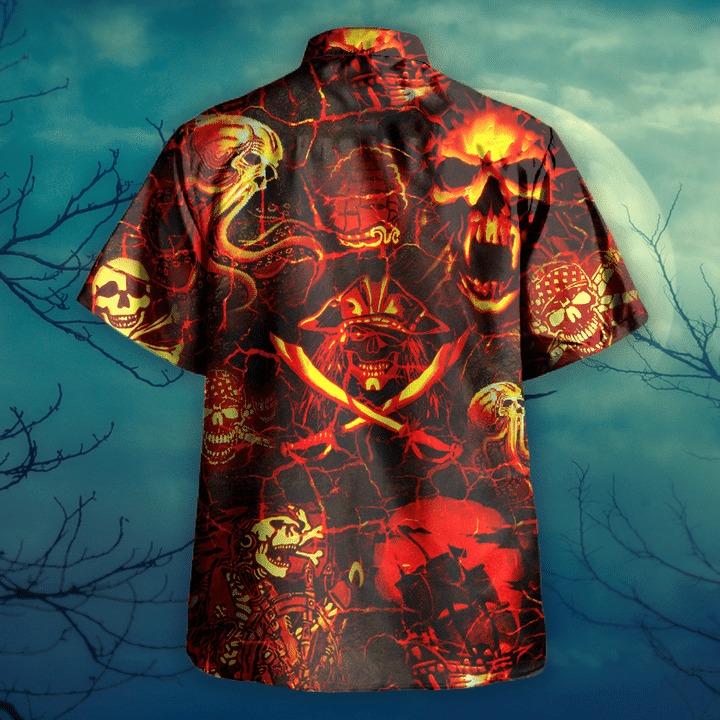 Time of the pirates hawaiian shirt 1