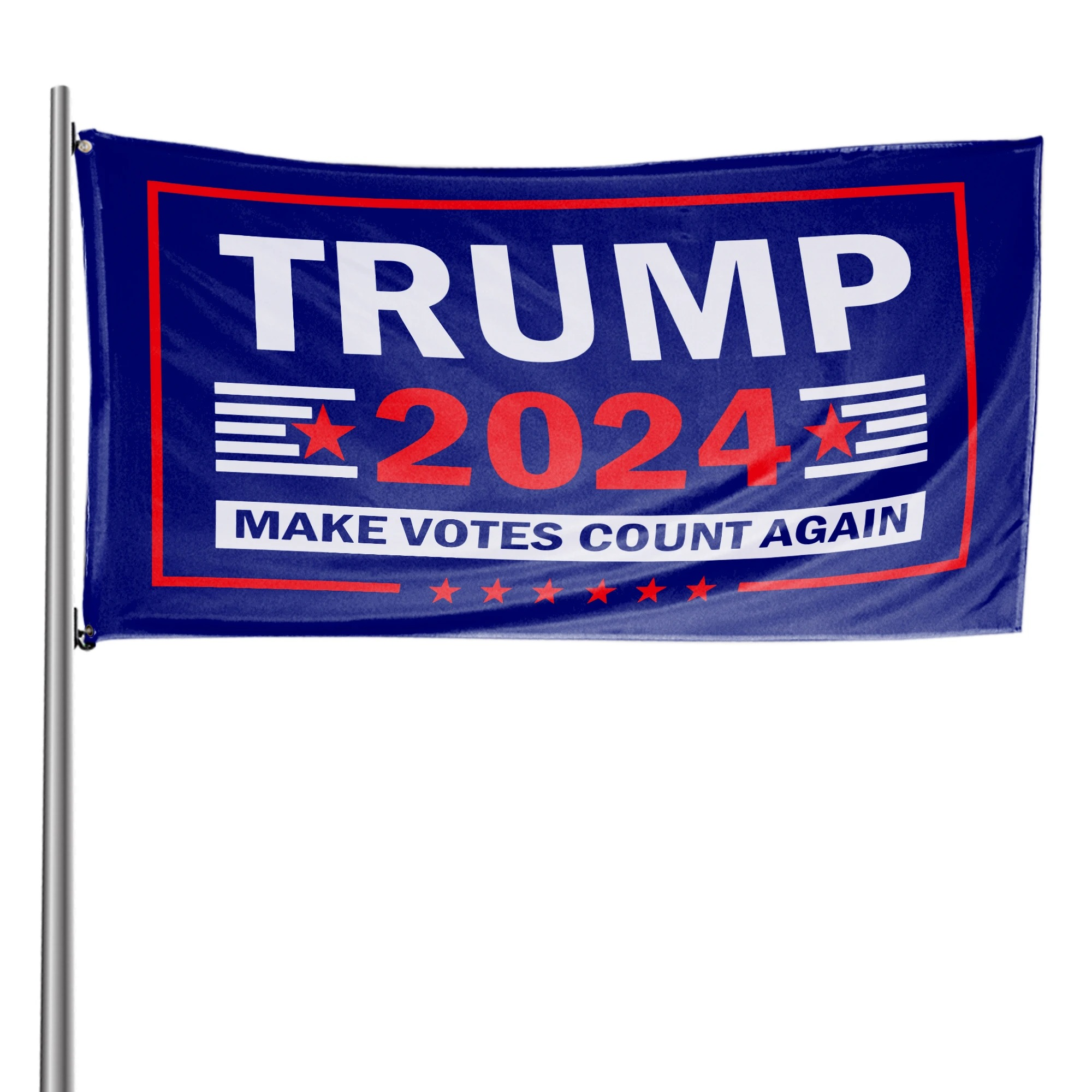 Trump 2024 Make Votes Count Again Flag 2