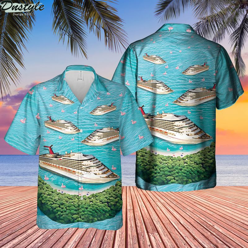 US Cruise Ship Half Moon Cay Hawaiian Shirt