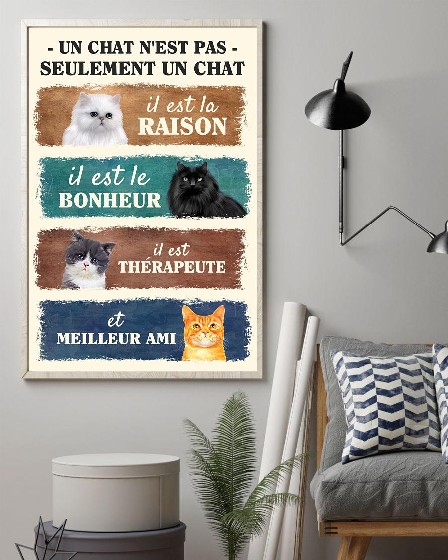 Un chat n'est pas seulement un chat poster