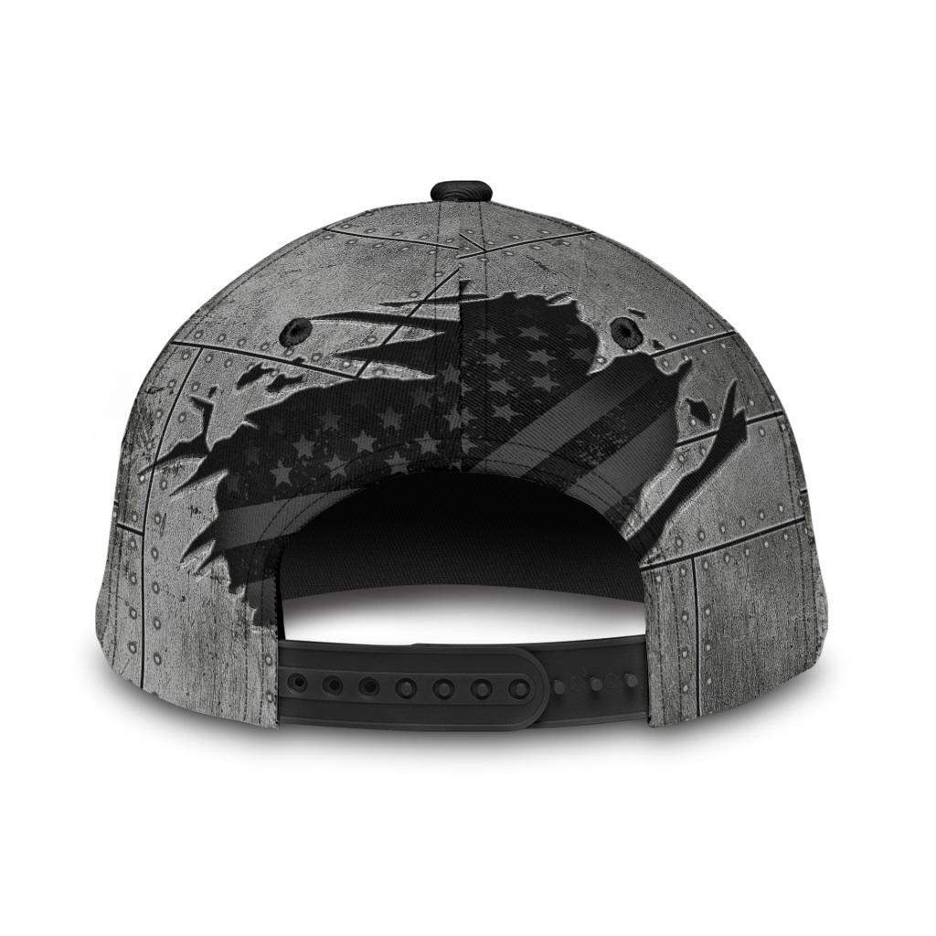 Veteran if the flag offends you kiss my vetass classic cap hat 2