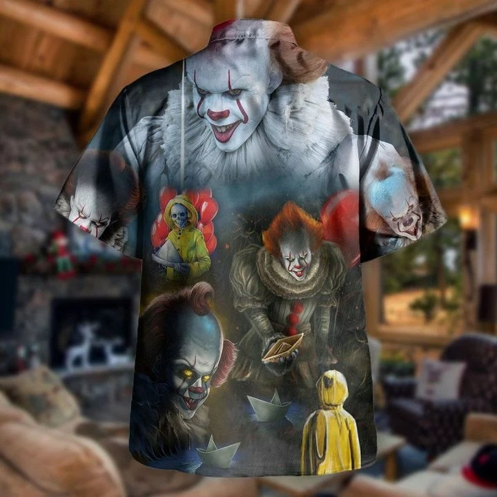 We all float down here pennywise hawaiian shirt 1