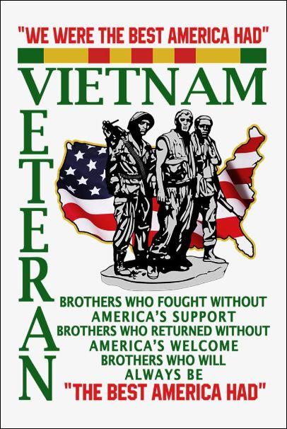We were the best America had Vietnam veteran poster