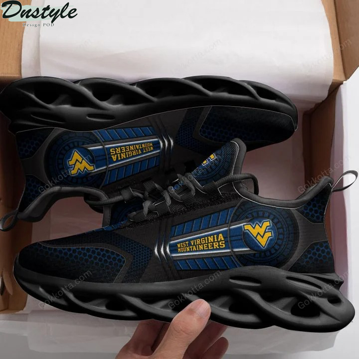 West virginia mountaineers NCAA max soul shoes