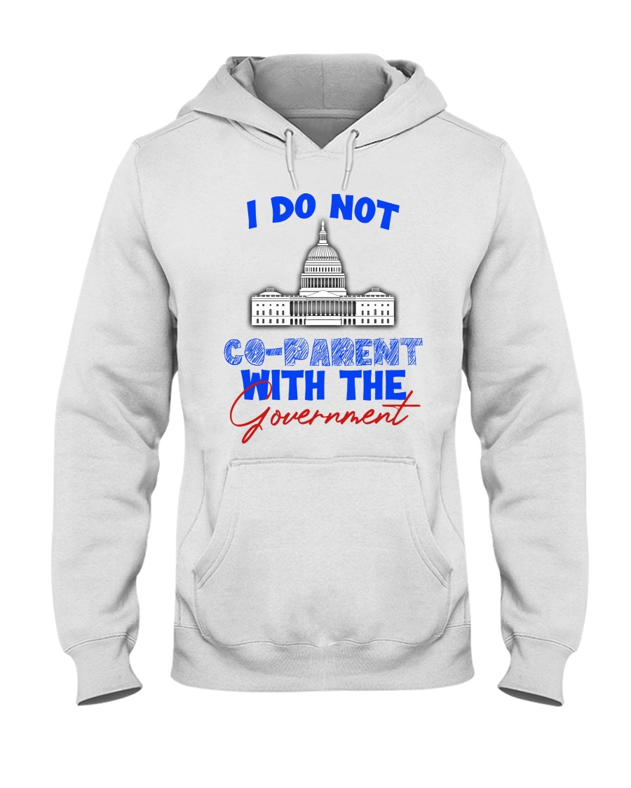 White house I do not co-parent with the government hoodie