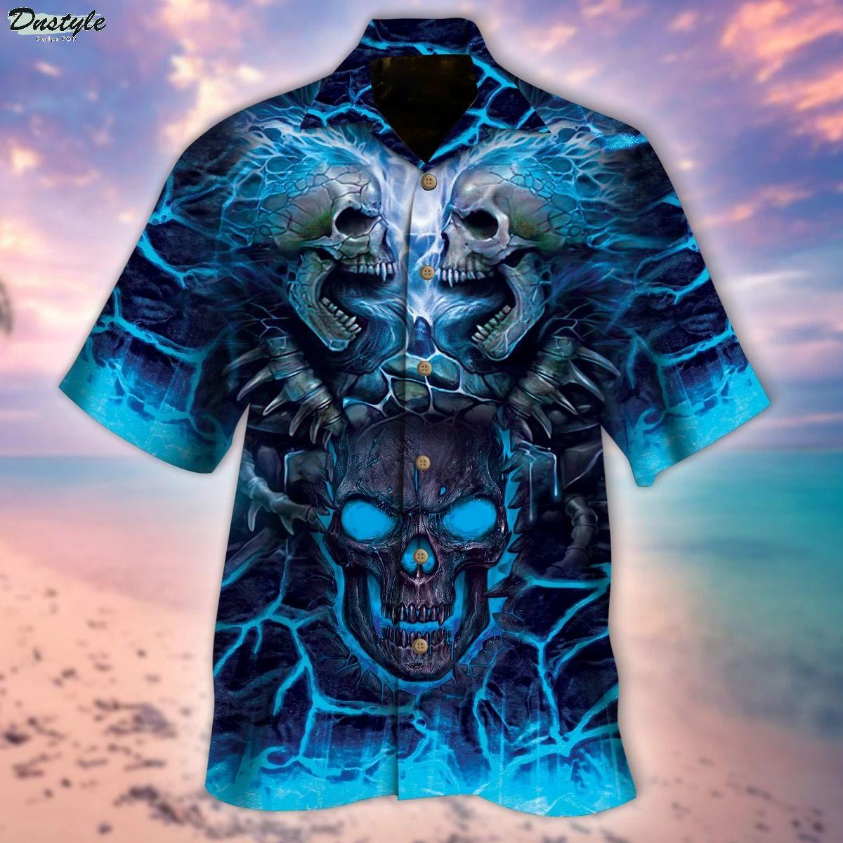 The Death Skull Hawaiian Shirt