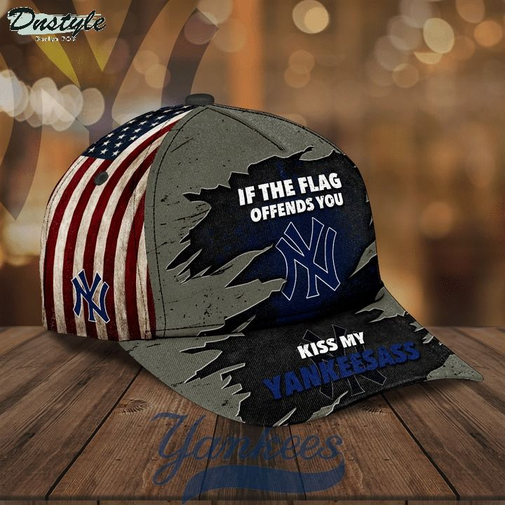 If the flag offends you kiss my Yankeesass hat cap 1