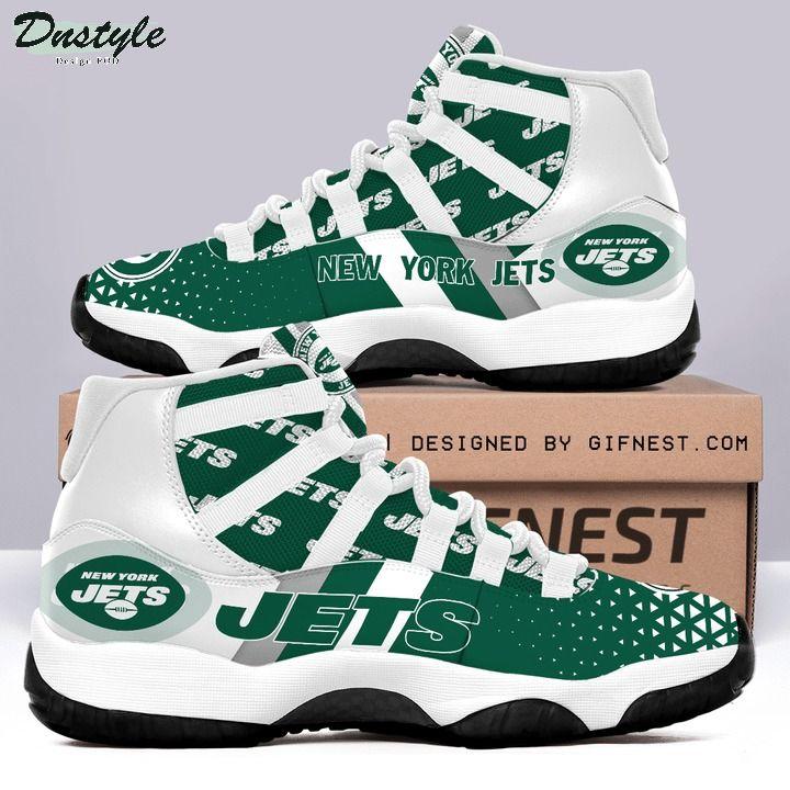 New york jets NFL air jordan 11 shoes