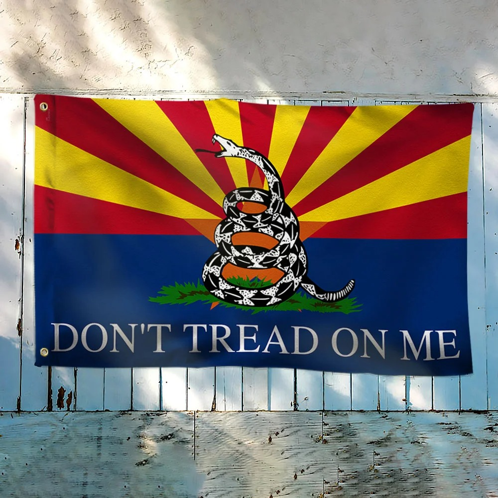 Arizona Don't Tread on Me Gadsden Flag 1