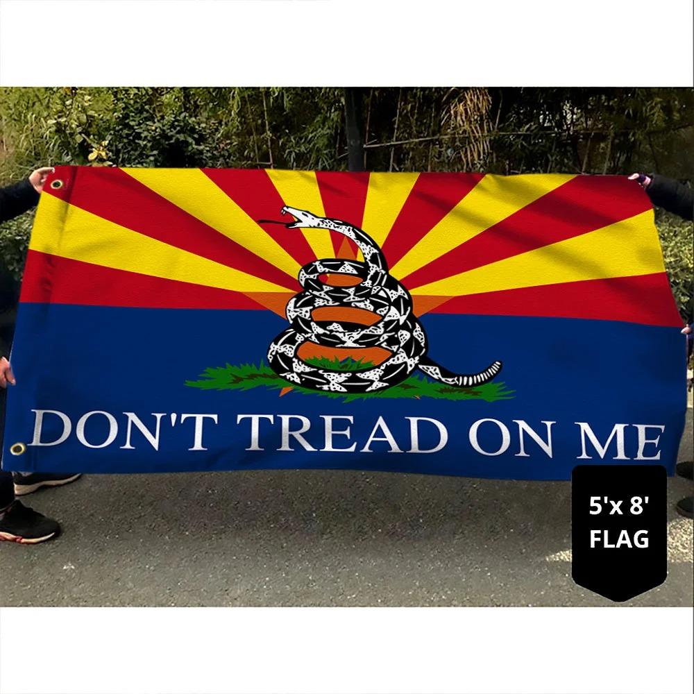 Arizona Don't Tread on Me Gadsden Flag 2