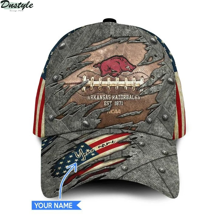 Arkansas razorbacks NCAA personalized classic cap