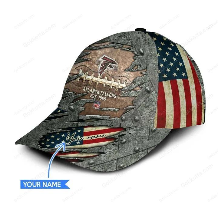 Atlanta falcons NFL personalized classic cap 3