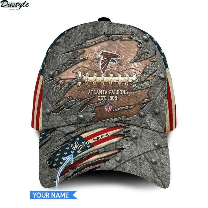 Atlanta falcons NFL personalized classic cap