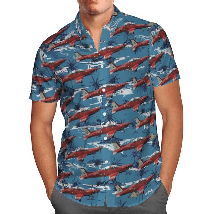 Australian air force pilatus pc-21 hawaiian shirt 1