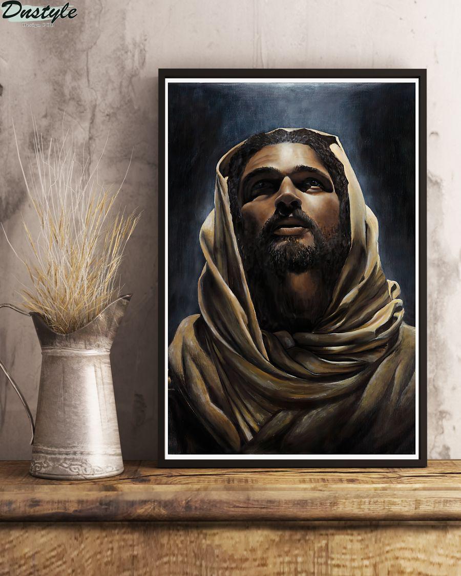 Black Jesus Magnets poster