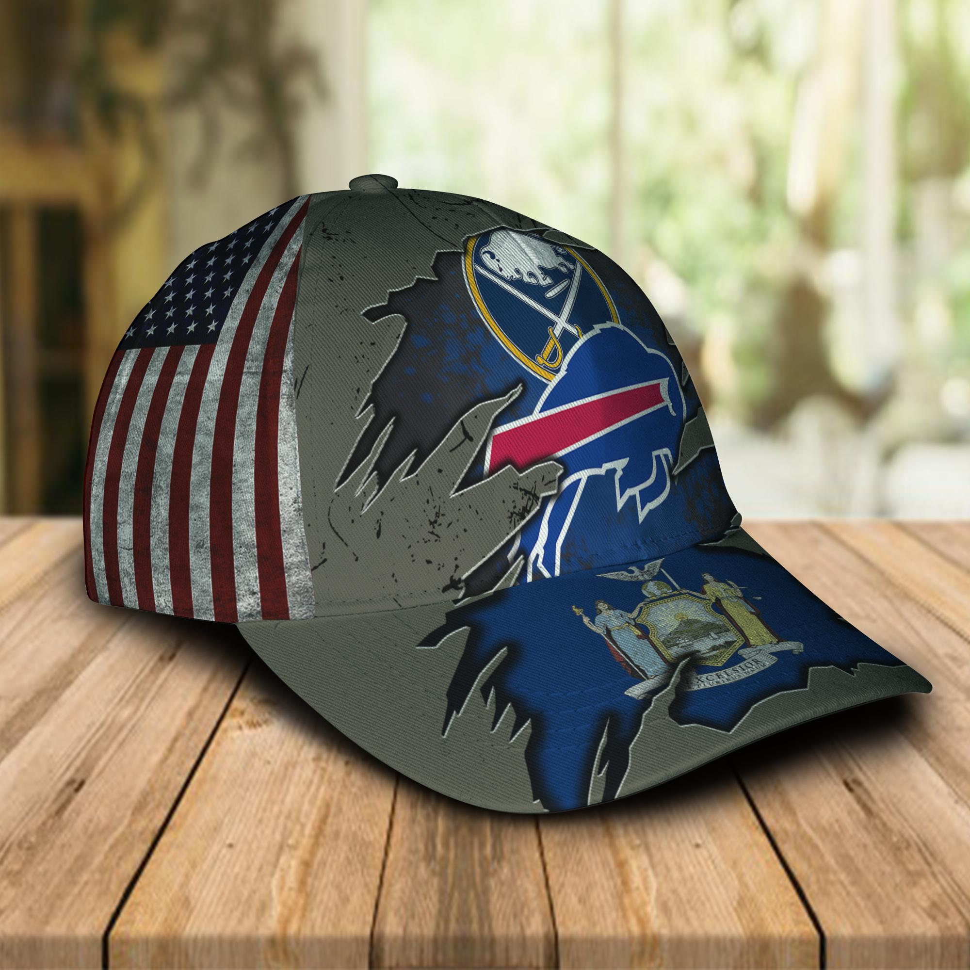 Buffalo Bills And Buffalo Sabres Cap 2