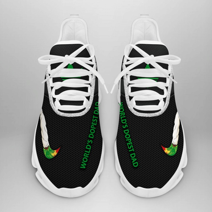 Cannabis x adidas world's dopest dad max soul shoes sneaker 3