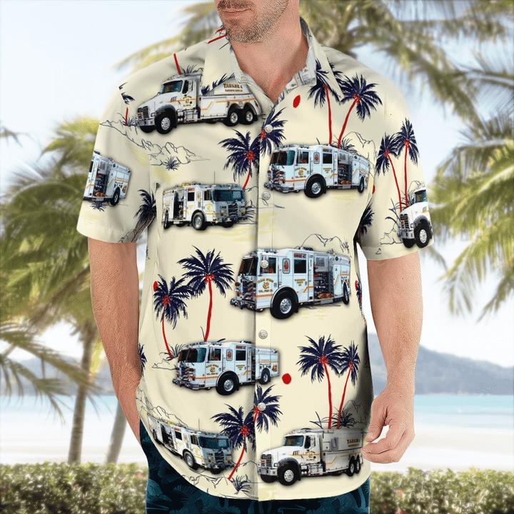 Clear spring volunteer fire company hawaiian shirt 1