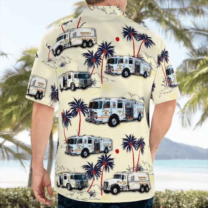 Clear spring volunteer fire company hawaiian shirt 2
