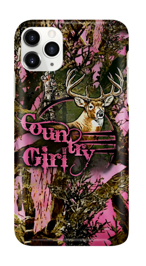 Country girl 3D phone case 1
