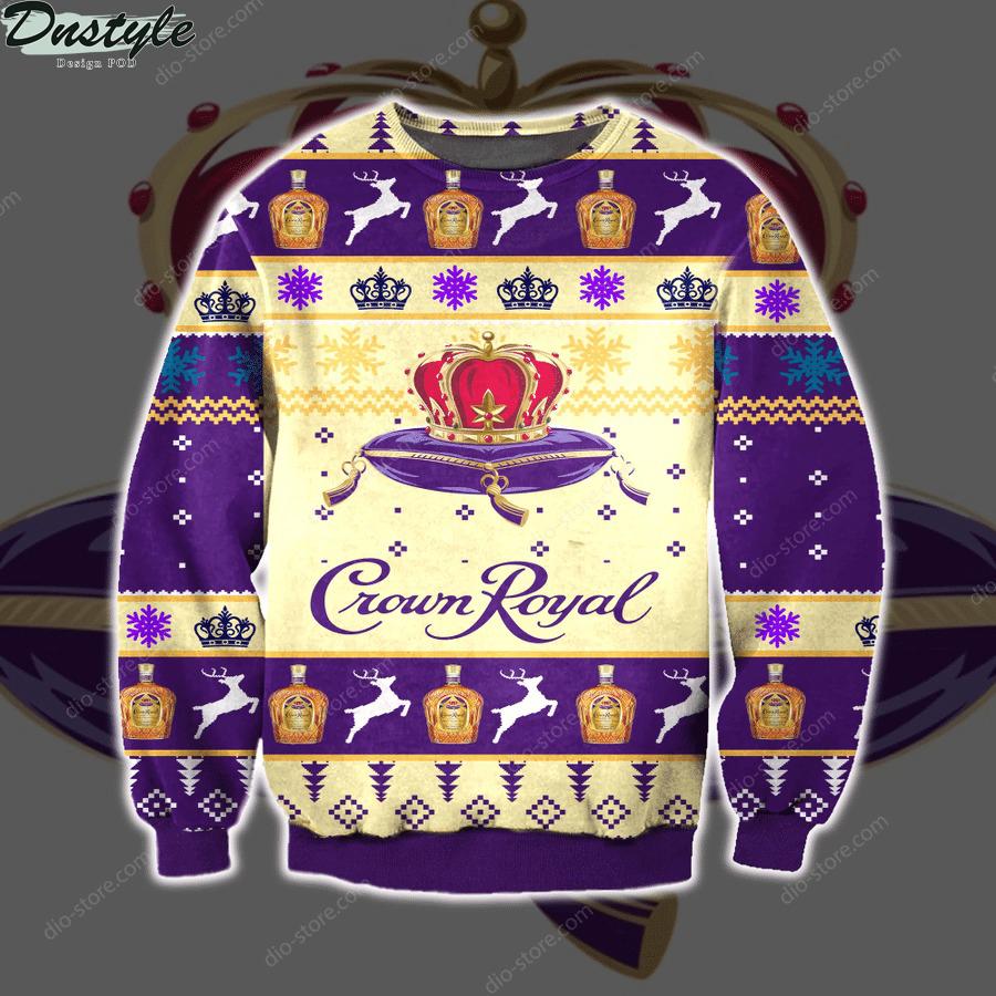 Crown royal ugly christmas sweater