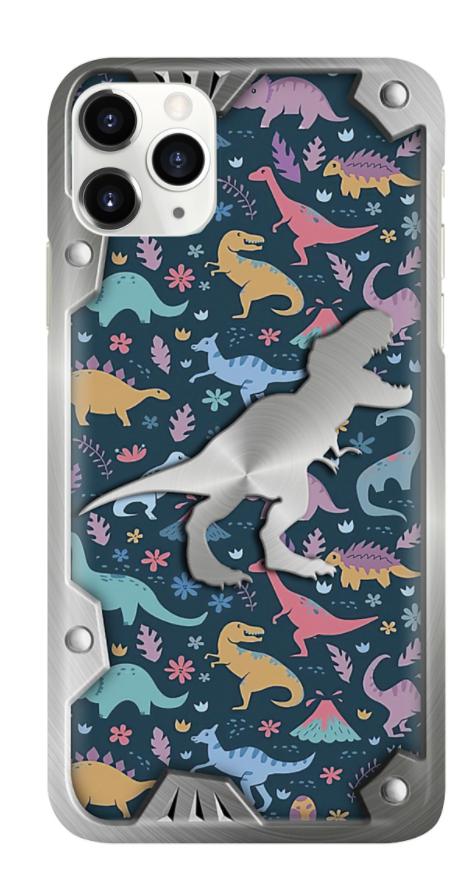 Dinosaur 3D phone case 1
