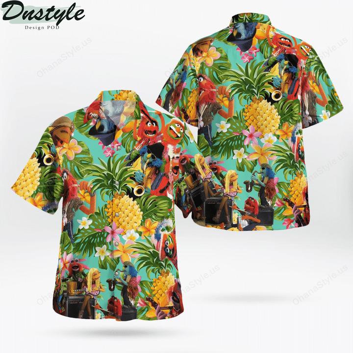 Electric mayhem tropical hawaiian shirt