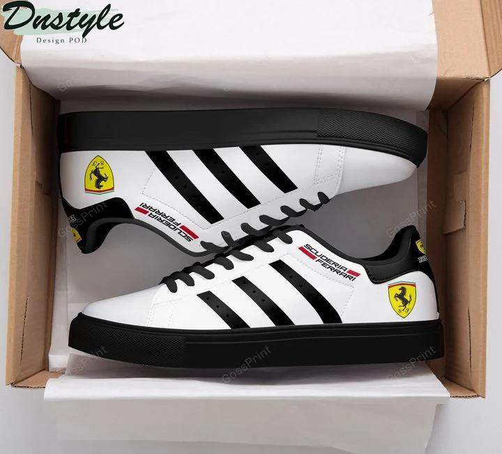 Ferrari scuderia stan smith low top shoes