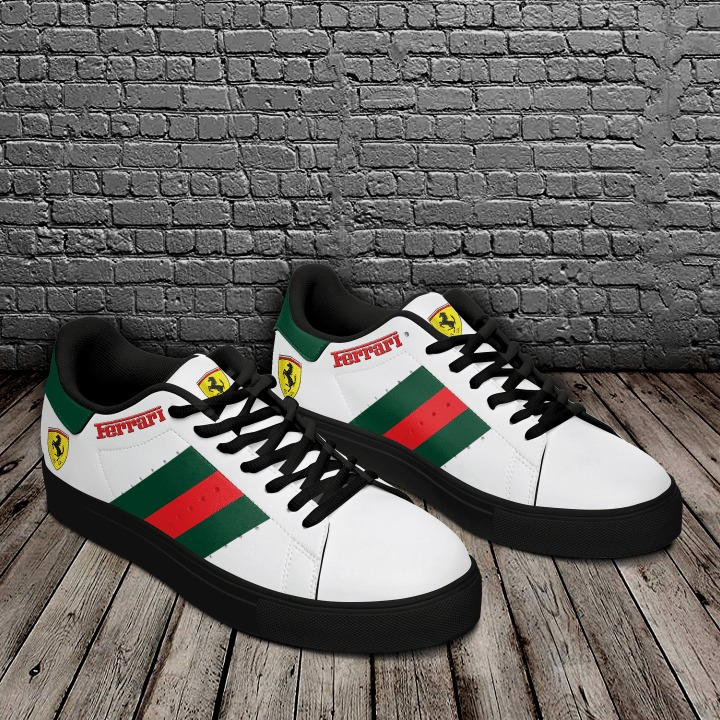 Ferrari stan smith low top shoes 3