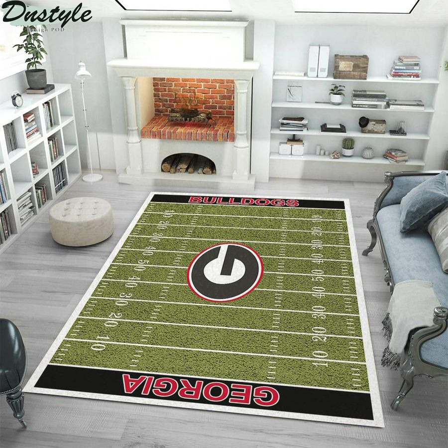 Georgia Bulldogs football rug