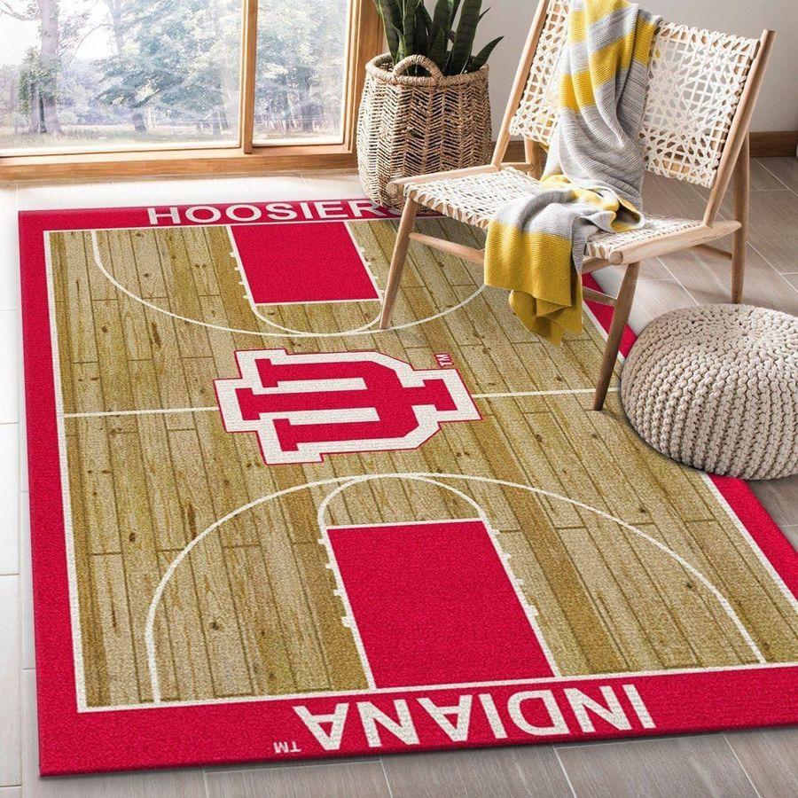 Indiana hoosiers football rug