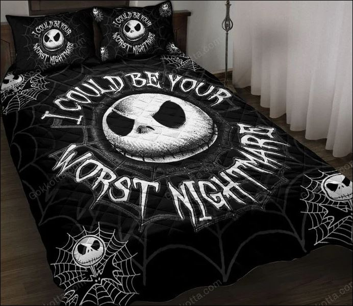 Jack Skellington i could be your worst nightmare quilt