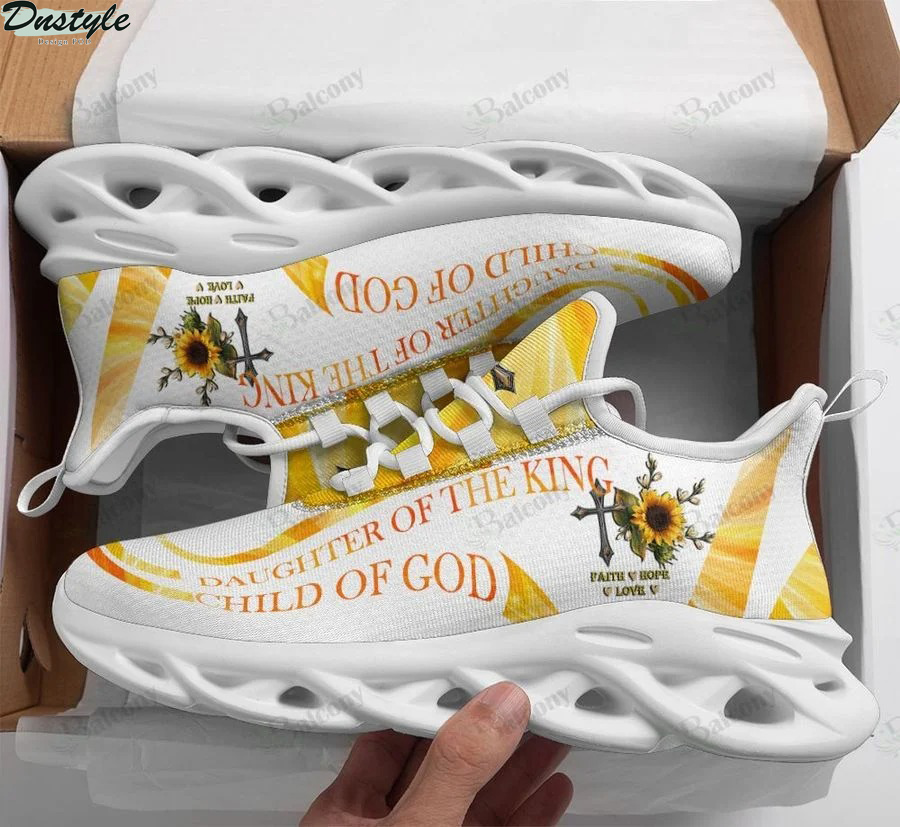 Jesus daughter of the king child of god max soul shoes