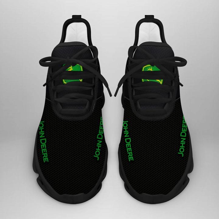 John deere black white clunky max soul shoes sneaker 1