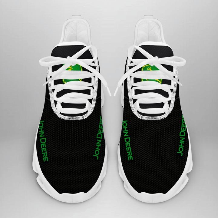 John deere black white clunky max soul shoes sneaker 3