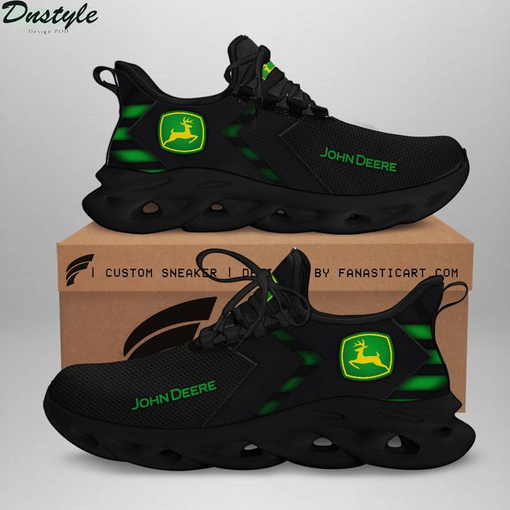 John deere black white clunky max soul shoes sneaker