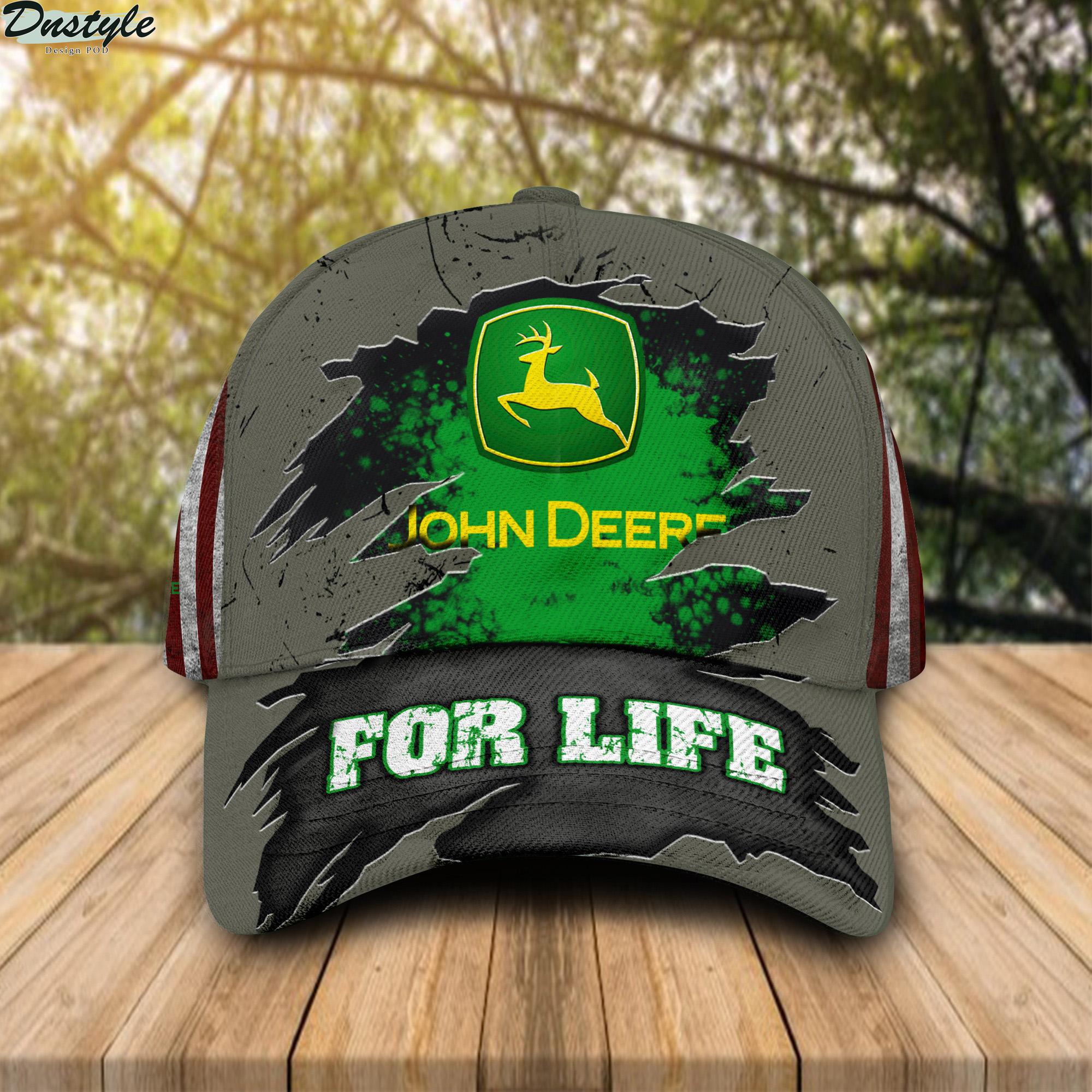John deere for life cap