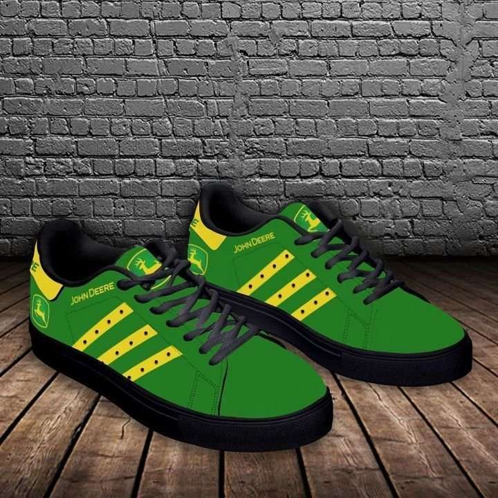 John deere green stan smith low top shoes 2