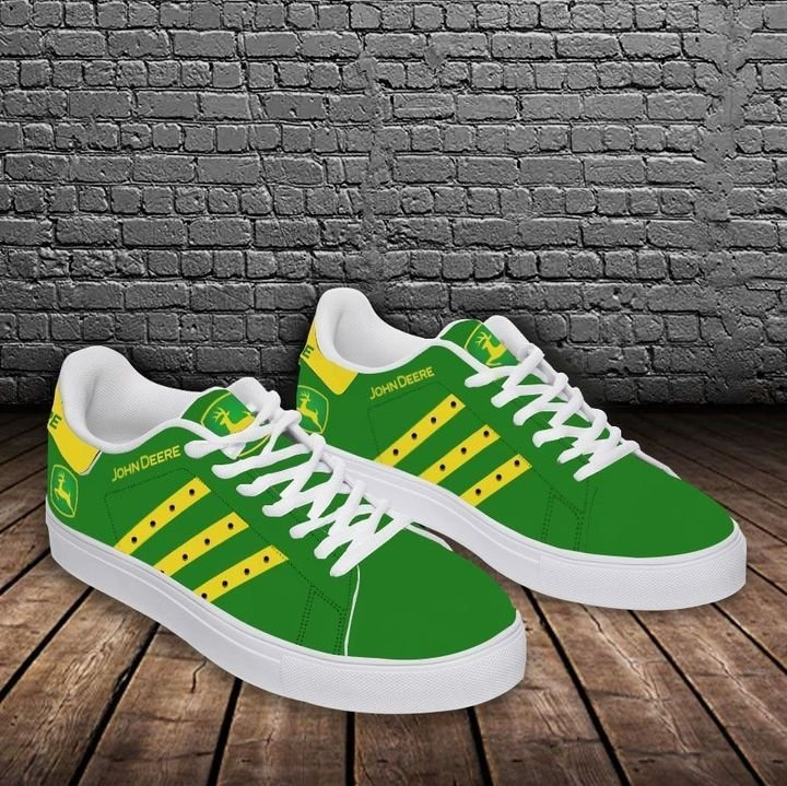 John deere green stan smith low top shoes 3