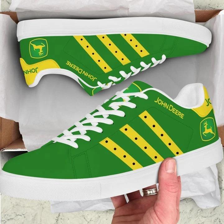 John deere green stan smith low top shoes
