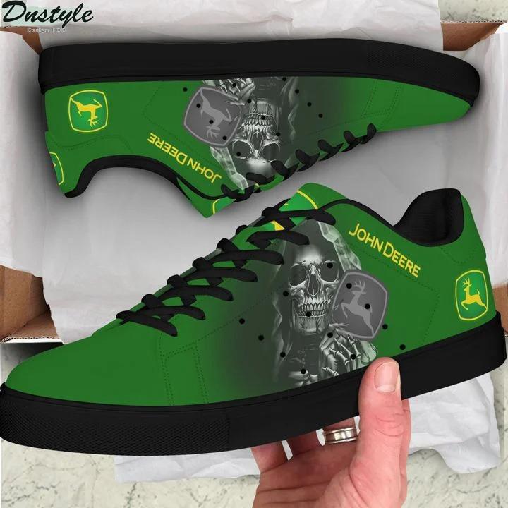 John deere skull green stan smith low top shoes