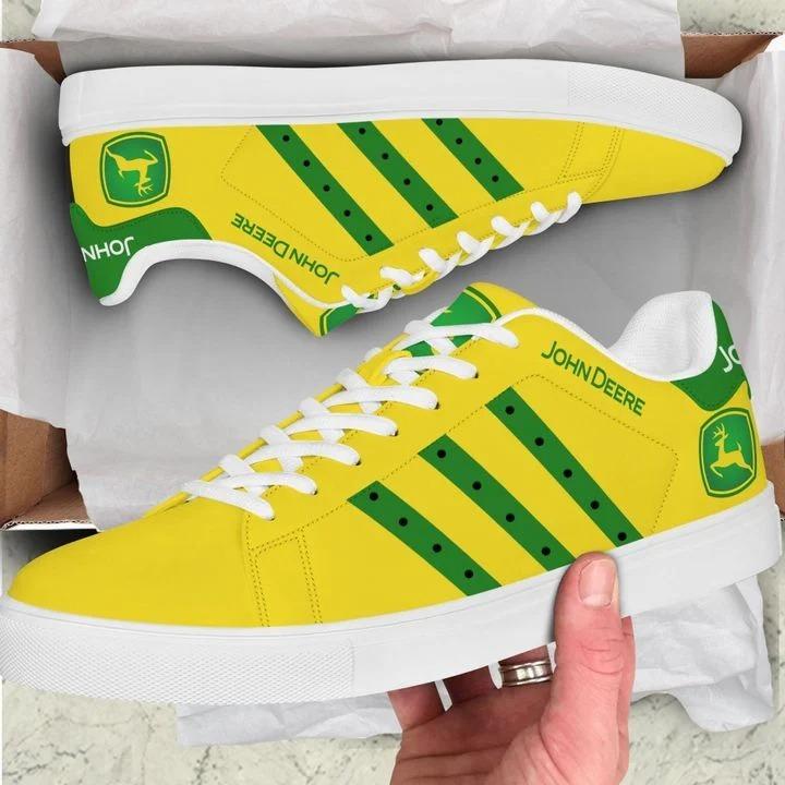 John deere yellow stan smith low top shoes 1