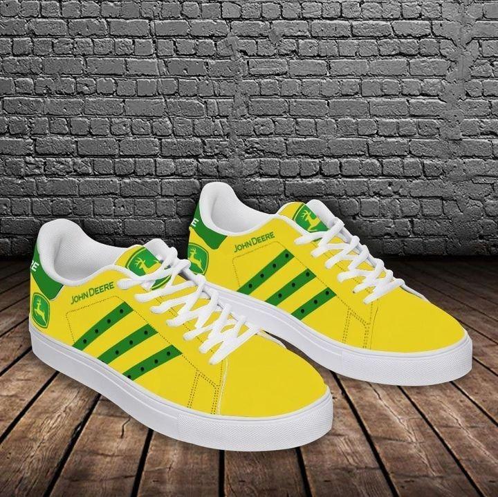 John deere yellow stan smith low top shoes 2